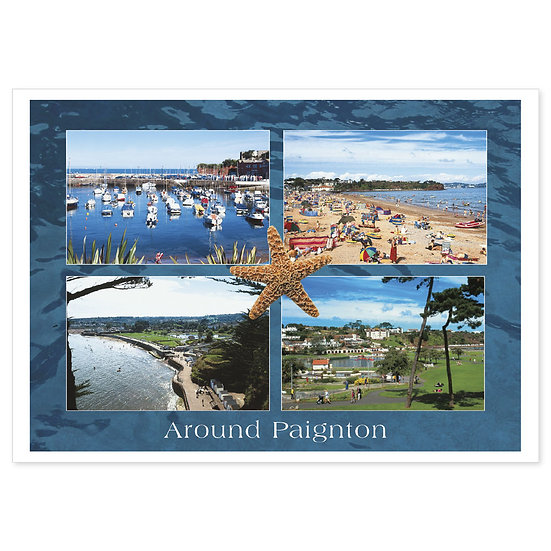 Paignton Around - Sold in pack (100 postcards)