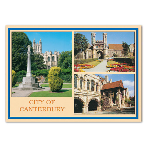 Canterbury City Of - Sold in pack (100 postcards)