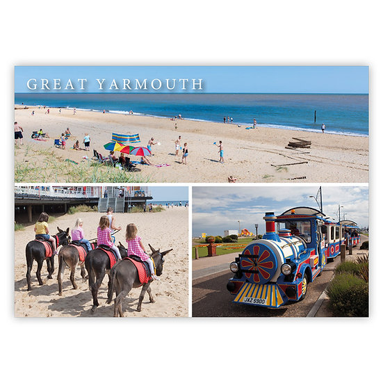 Great Yarmouth, Comp 1 - Sold in pack (100 postcards)