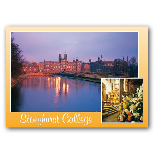 Hurst Green Stonyhurst College - Sold in pack (100 postcards)