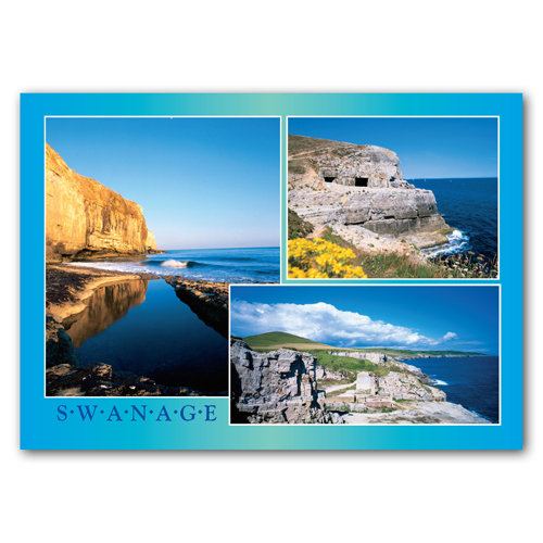 Purbeck Coast - Sold in pack (100 postcards)