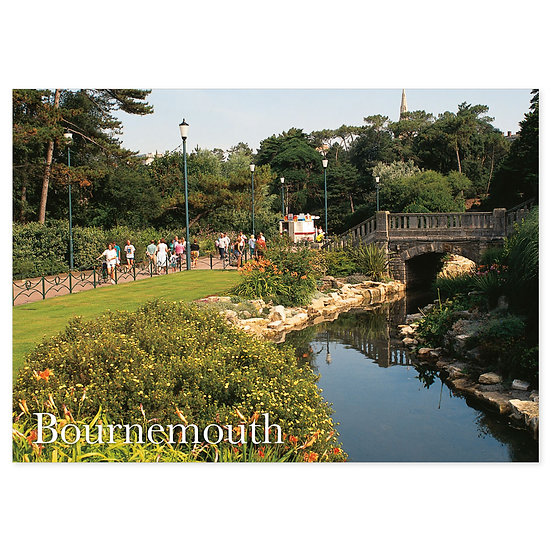 Bournemouth Gardens - Sold in pack (100 postcards)