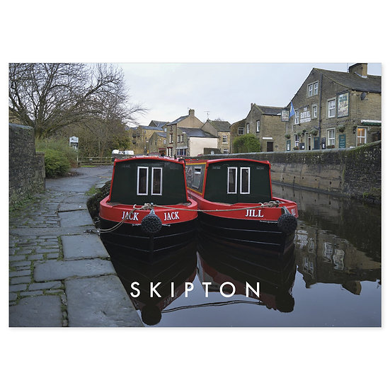 Skipton Canal - Sold in pack (100 postcards) - Sold in pack (100 postcards)