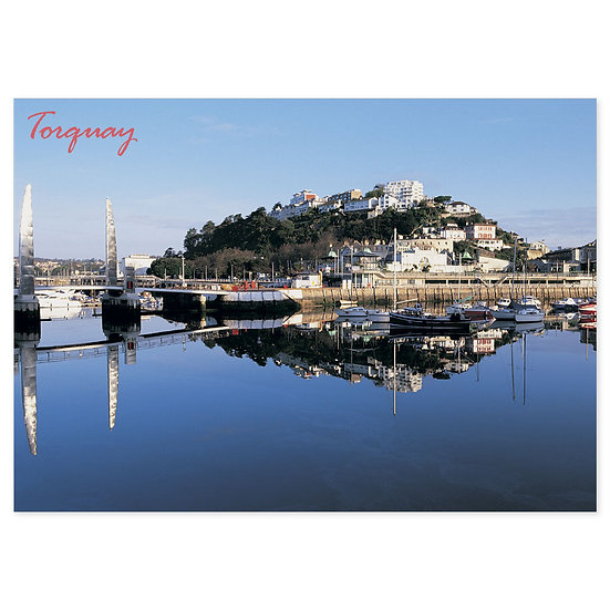 Torquay Headland and Harbour - Sold in pack (100 postcards)