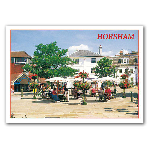 Horsham - Sold in pack (100 postcards)