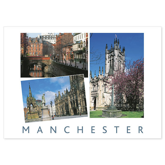 Manchester Around - Sold in pack (100 postcards)