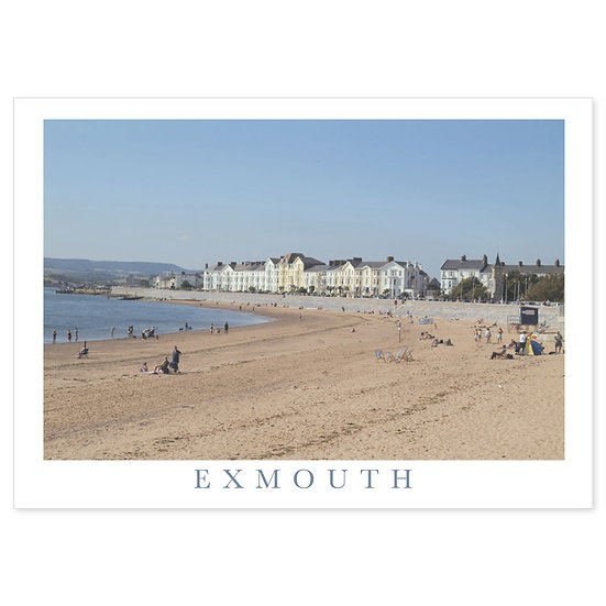 Exmouth Moreton Crescent - Sold in pack (100 postcards)