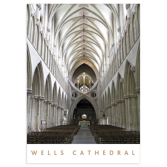 Wells Cathedral - Sold in pack (100 postcards)
