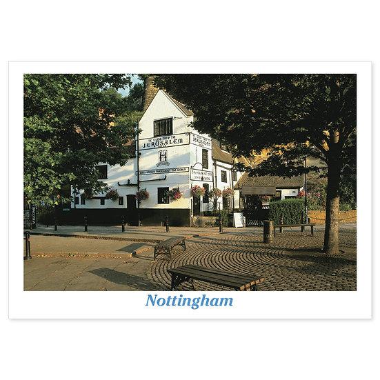Nottingham Ye Olde Trip Pub - Sold in pack (100 postcards)