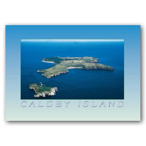 Tenby Caldey Island - Sold in pack (100 postcards)