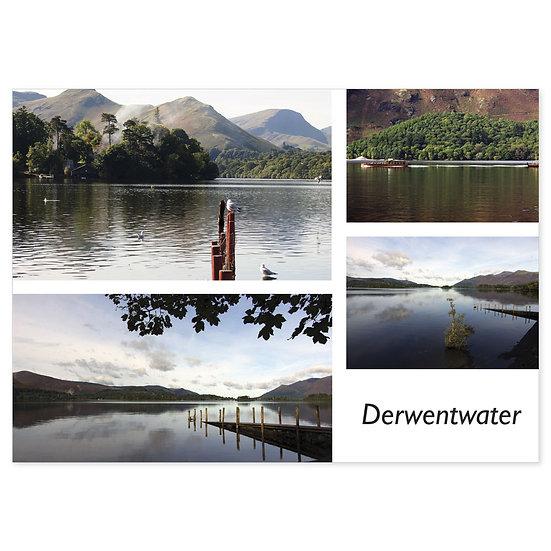 Derwentwater Comp - Sold in pack (100 postcards)