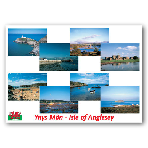 Anglesey Isle of - Sold in pack (100 postcards)