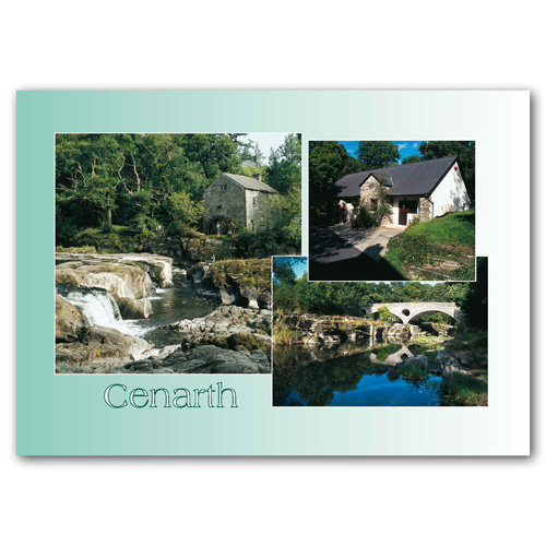 Cenarth - Sold in pack (100 postcards)