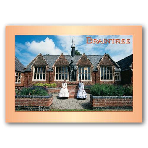 Braintree - Sold in pack (100 postcards)