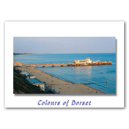 Dorset Just Bournemouth - Sold in pack (100 postcards)