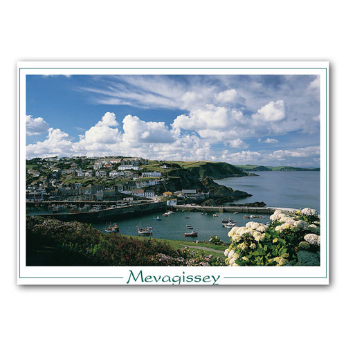 Mevagissey - Cornwall - Sold in pack (100 postcards)