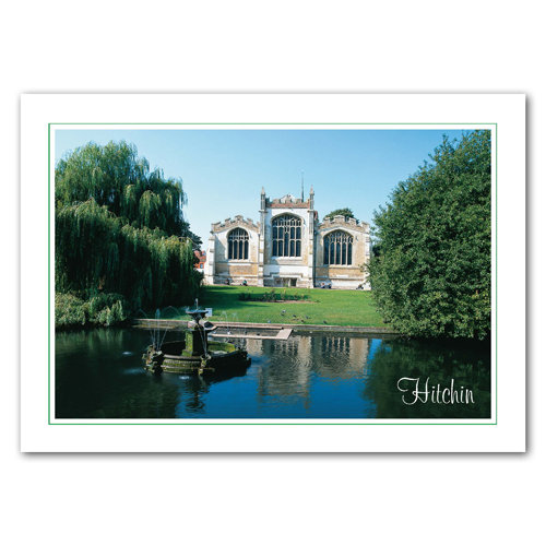 Hitchin - Sold in pack (100 postcards)