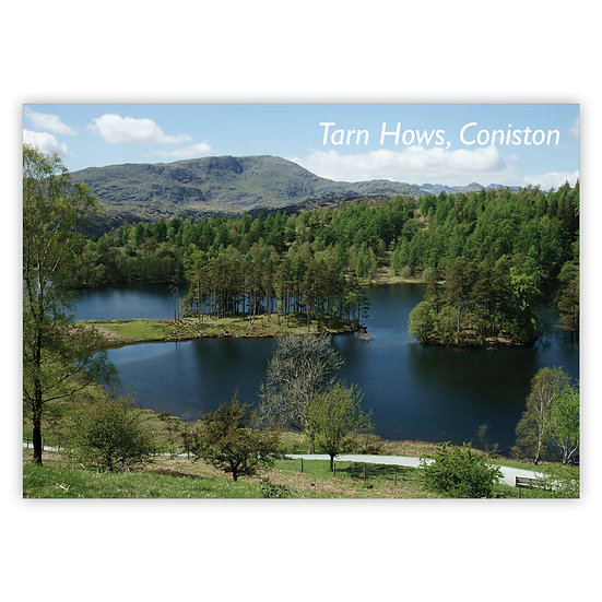Coniston Tarn Hows - Sold in pack (100 postcards)