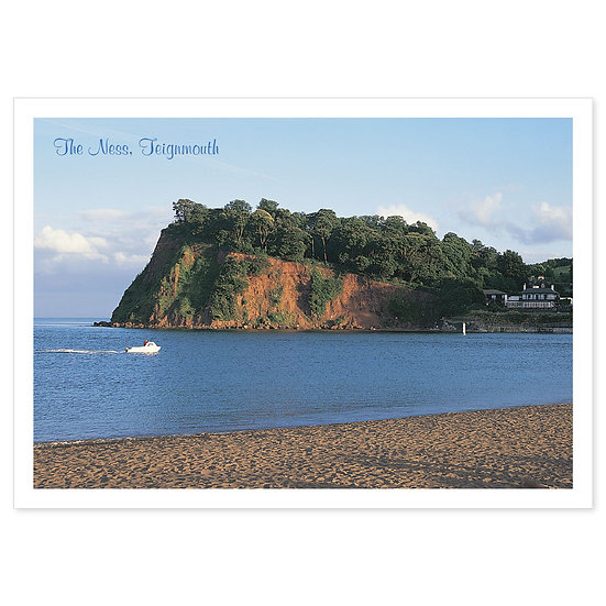 Teignmouth, The Ness - Sold in pack (100 postcards)