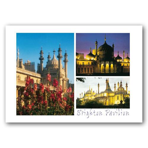 Brighton Pavilion Comp - Sold in pack (100 postcards)