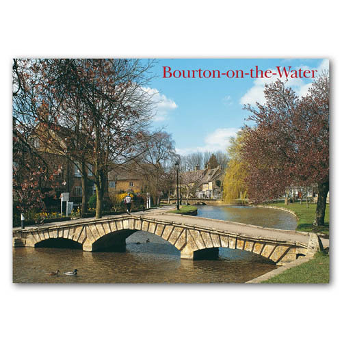 Bourton on the Water - Sold in pack (100 postcards)