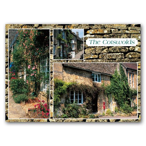 Cotswolds 3 View Comp - Sold in pack (100 postcards)