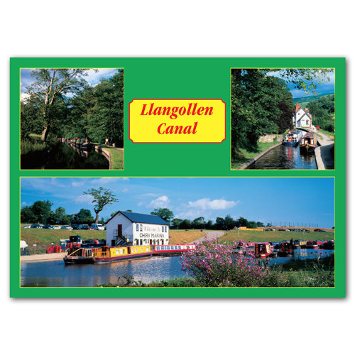 Llangollen Canal - Sold in pack (100 postcards)