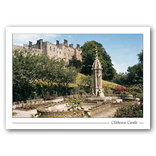 Clitheroe Castle - Sold in pack (100 postcards)
