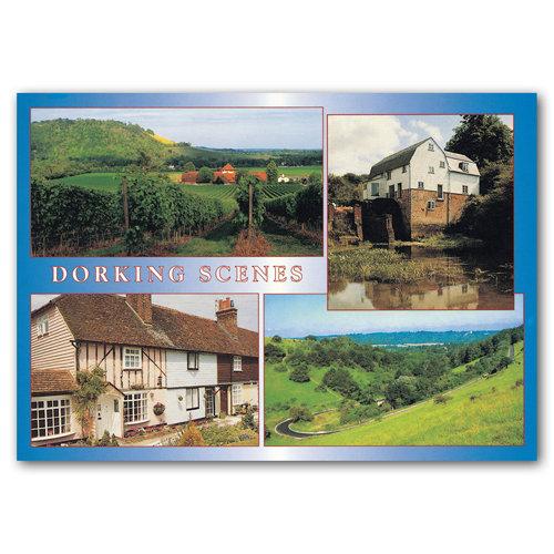 Dorking Scenes - Sold in pack (100 postcards)