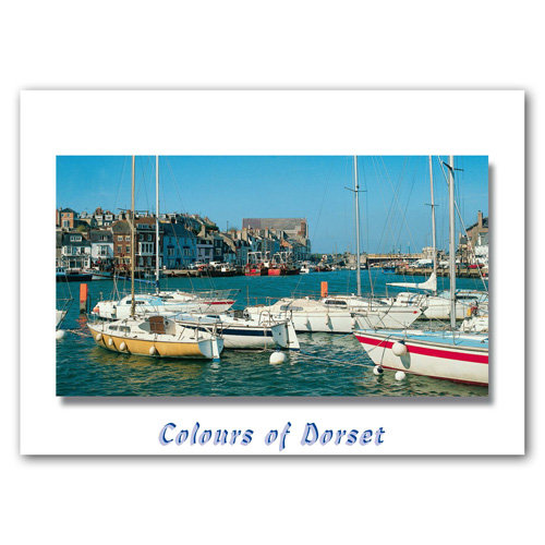 Dorset Just Weymouth - Sold in pack (100 postcards)