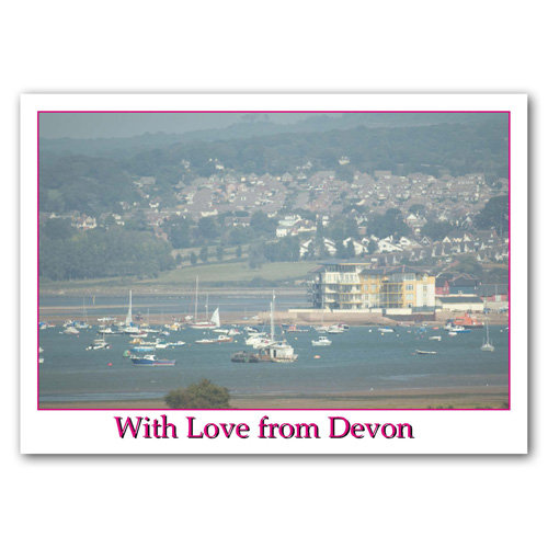 Exmouth From Dawlish Warren - Sold in pack (100 postcards)