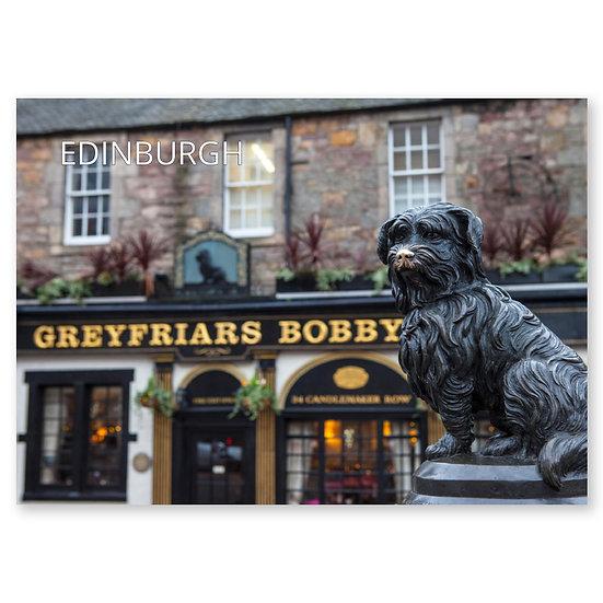 Edinburgh, Greyfriars Bobby - Sold in pack (100 postcards)