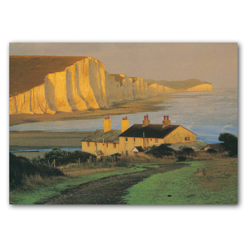Eastbourne Seven Sisters - Sold in pack (100 postcards)