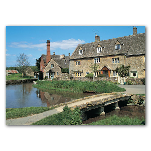 Lower Slaughter - Sold in pack (100 postcards)