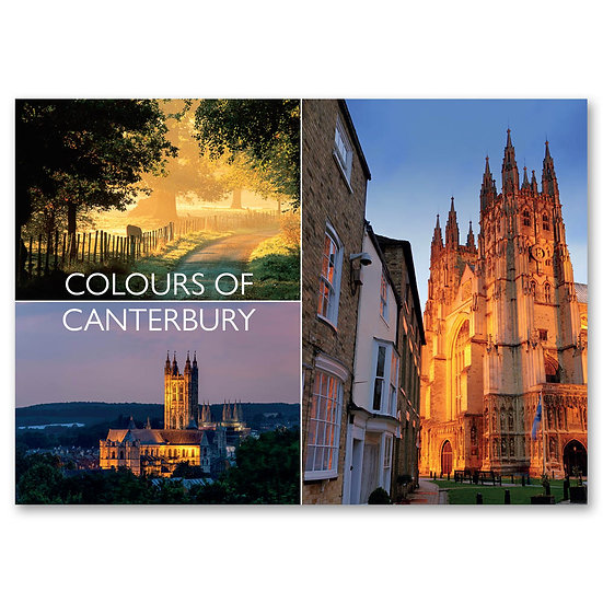 Canterbury, Colours of - Sold in pack (100 postcards)