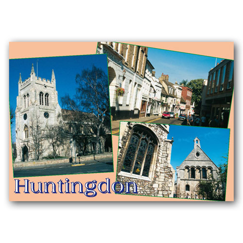 Huntingdon - Sold in pack (100 postcards)