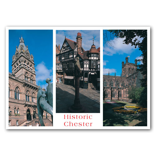 Chester Historic Comp View - Sold in pack (100 postcards)
