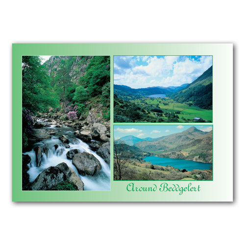 Beddgelert Around - Sold in pack (100 postcards)