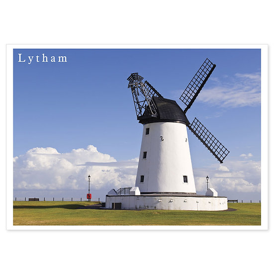 Lytham Windmill - Sold in pack (100 postcards)