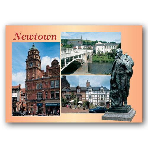 Newtown - Sold in pack (100 postcards)