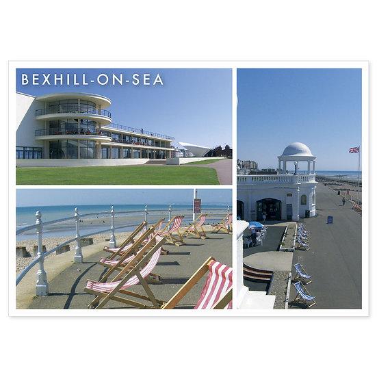 Bexhill De La Warr Pavillion Comp - Sold in pack (100 postcards)