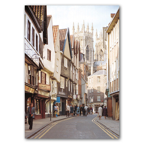 York Petergate - Sold in pack (100 postcards)