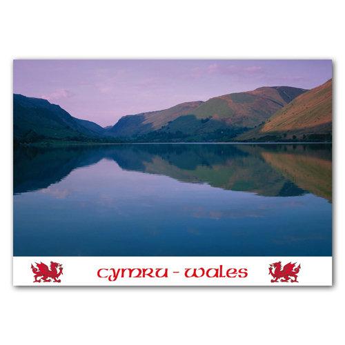 Wales Tal-Y-Llyn - Sold in pack (100 postcards)