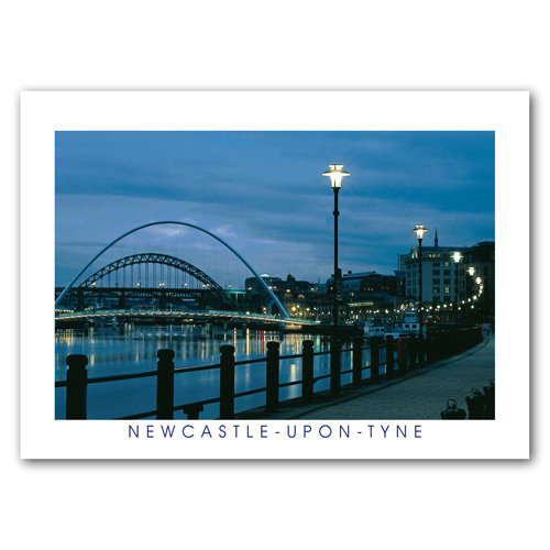 Newcastle-upon-Tyne - Sold in pack (100 postcards)