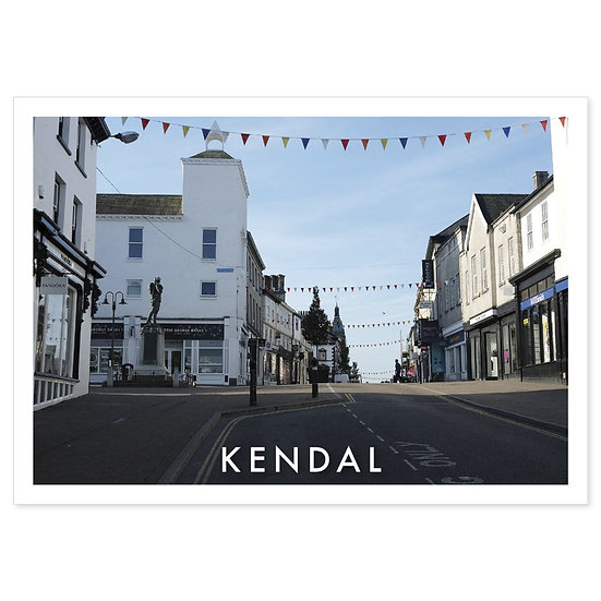 Kendal town centre - Sold in pack (100 postcards)