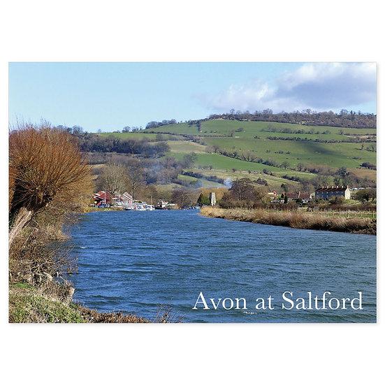 Avon at Saltford - Sold in pack (100 postcards)