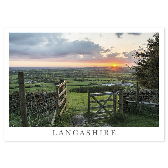 Beacon Fell Lancashire - Sold in pack (100 postcards)