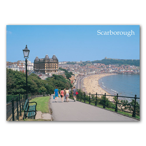 Scarborough South Bay and Grand Hotel - Sold in pack (100 postcards)