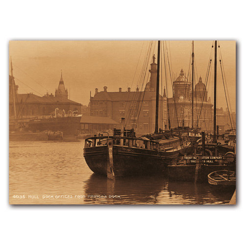 Hull Sepia - Sold in pack (100 postcards)