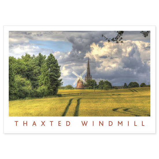 Thaxted Windmill - Sold in pack (100 postcards)